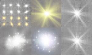 光源光效设计元素主题矢量素材集V17