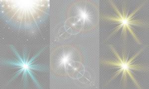 光源光效设计元素主题矢量素材集V18