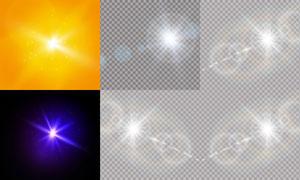 光源光效设计元素主题矢量素材集V19
