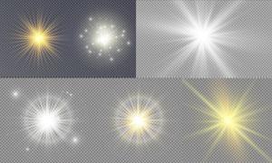 光源光效设计元素主题矢量素材集V20