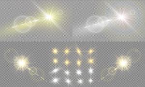 光源光效设计元素主题矢量素材集V22