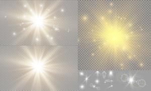 光源光效设计元素主题矢量素材集V23