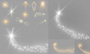 光源光效设计元素主题矢量素材集V24