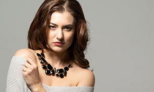 毛衣長衫美女人物寫真攝影高清原片