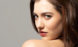 欧美模特人物回眸瞬间摄影高清原片