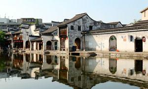 江南水乡古镇建筑高清摄影图片