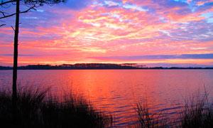 格?#23383;?#31435;公园海边美景摄影图片