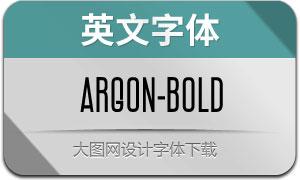 Argon-Bold(英文字体)