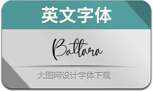 Battara(英文字体)