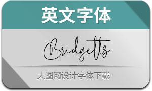 Bridgetts(英文字体)
