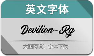 Devilion-Regular(英文字体)