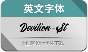 Devilion-Stamp(英文字体)