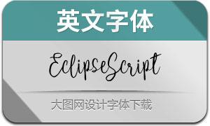 EclipseScript(英文字体)