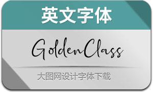 GoldenClass(英文字体)
