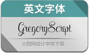 GregoryScript(英文字体)