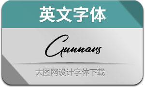 Gunnars(英文字体)