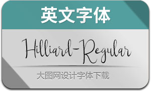 Hilliard-Regular(英文字体)
