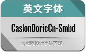 CaslonDoricCn-Smbd(英文字体)