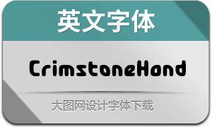 CrimstoneHand(英文字体)