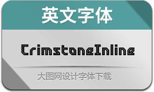 CrimstoneInline(英文字体)