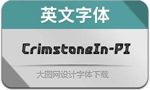 CrimstoneInline-PrintedIt(英文字体)