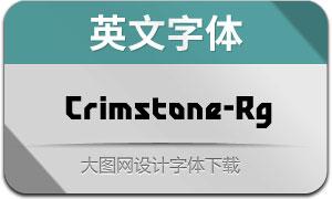 Crimstone-Regular(英文字体)