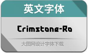 Crimstone-Rounded(英文字体)