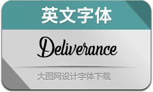 Deliverance(英文字体)