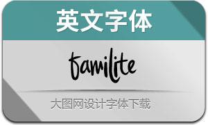 Familite(英文字体)