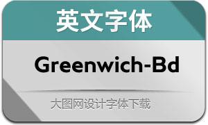 Greenwich-Bold(英文字体)