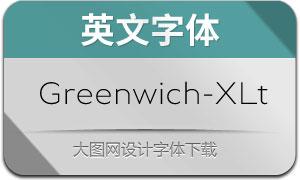 Greenwich-ExtraLt(英文字体)