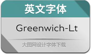 Greenwich-Light(英文字体)