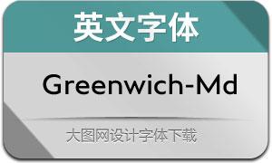Greenwich-Medium(英文字体)