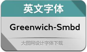 Greenwich-SemiBold(英文字体)
