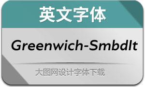 Greenwich-SemiBoldIt(英文字体)