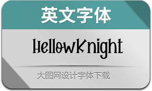 HellowKnight(英文字体)