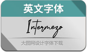 Intermezo(英文字体)
