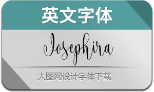Josephira(英文字体)