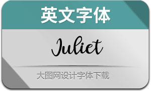Juliet(英文字体)