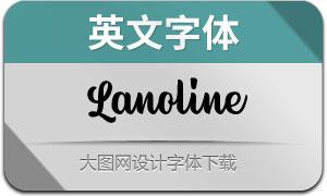 LanolineScript(英文字体)