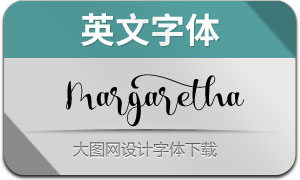 MargarethaScript(英文字体)