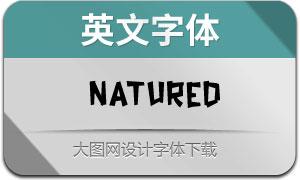 Natured(英文字体)