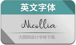 Nicollia(英文字体)
