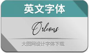 Orleons(英文字体)