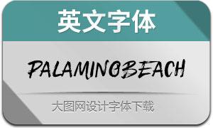 PalaminoBeach(英文字体)
