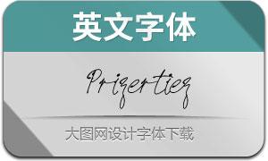 Prizertiez(英文字体)