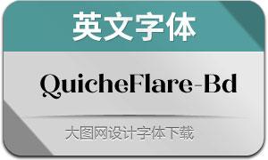 QuicheFlare-Bold(英文字体)