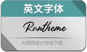 Rantheme(英文字体)
