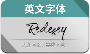 Redesey(英文字体)