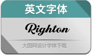 Righton(英文字体)